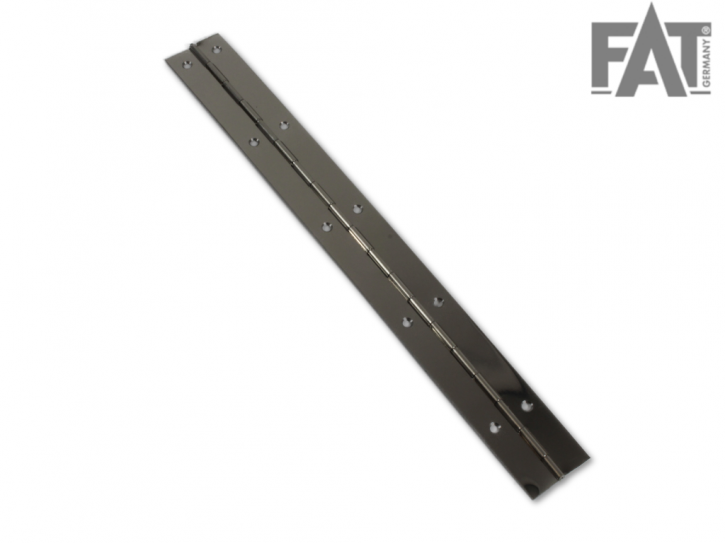 Klavierband Stahl 1165 x 32 mm vorgebohrt