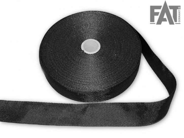 Polyesterband 30mm schwarz