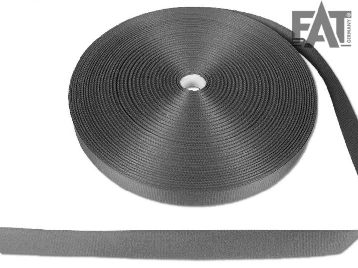Taffetband 30mm schwarz