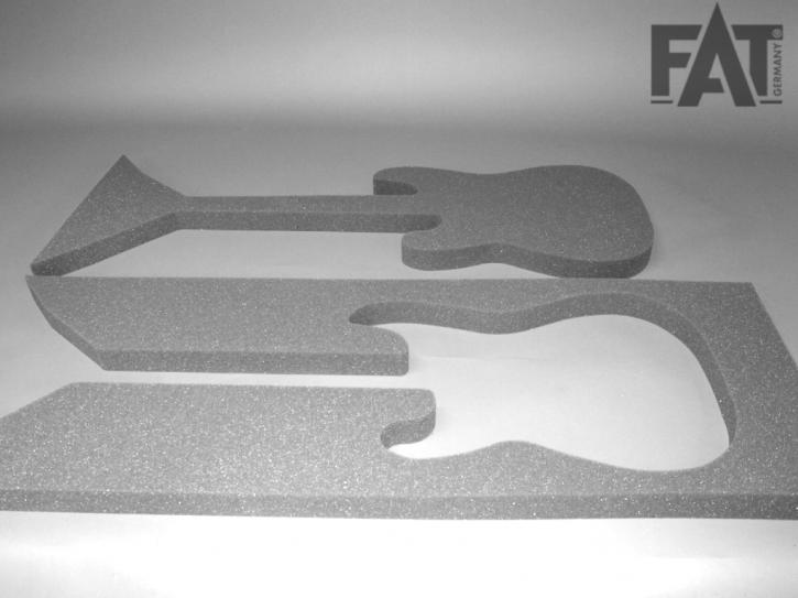 Schaumeinlage für Stratocaster E-Gitarre